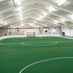 indoor soccer field turf